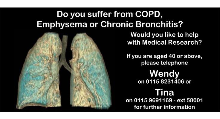 Emphysema or Chronic Bronchitis?   COPD East Midlands   Pinterest