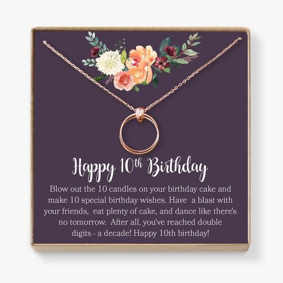2020 No Christmas Bonus For 2 Years 10th Birthday Gift for Girls: Birthday Present for Ten Year   Etsy