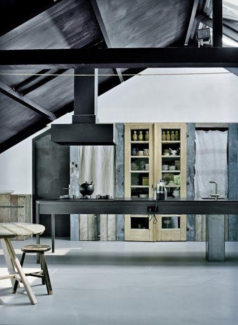 Charming Ma Cuisine, Cu0027est Du Béton #decoration #kitchen #mur #sol
