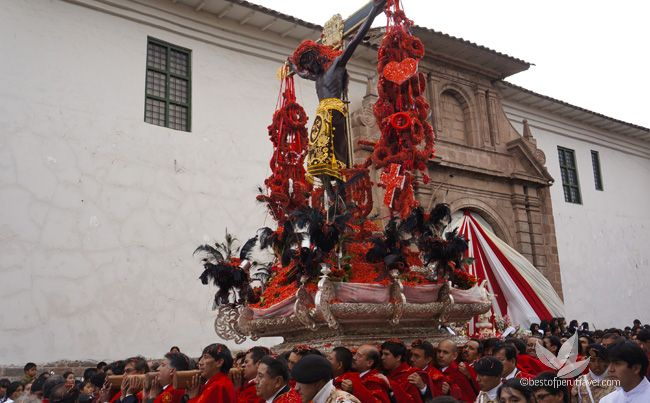 Easter in Peru - What's on during Semana Santa in Cusco 2016