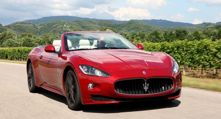 Maserati Red Car 1024x768 Maserati granturismo