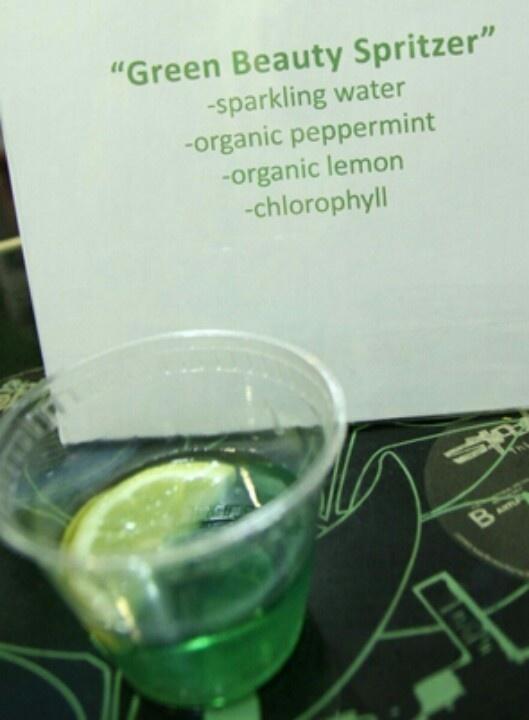 Green Beauty Spritzer | The Green Board | Pinterest