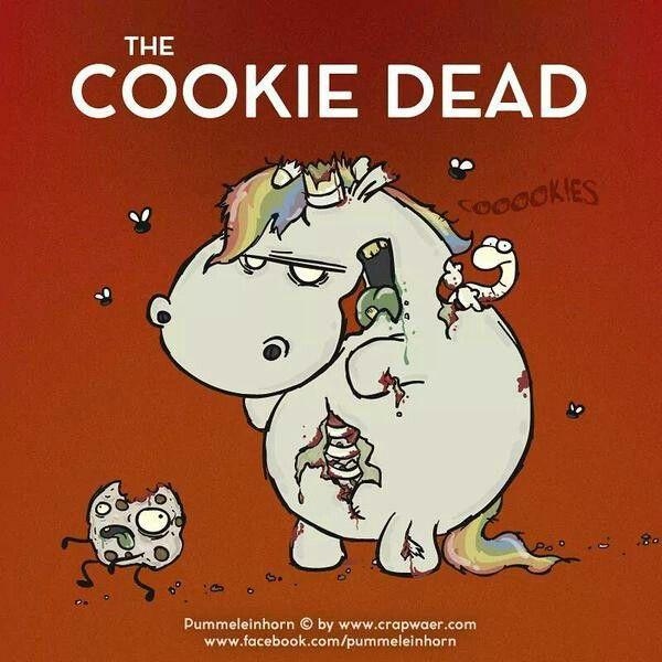 Cookie Zombie Pummeleinhorn