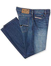Diesel Herren Bootcut Jeans Zatiny