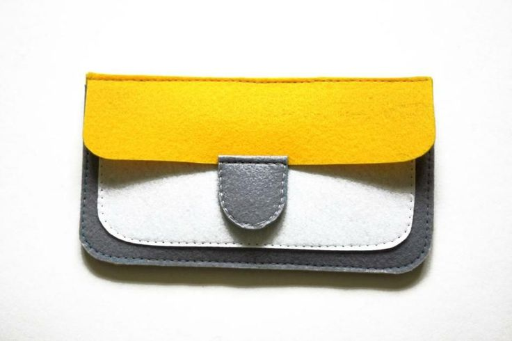 How to sew a stylish and compact purse out of felt with their hands. Despite its small size, it is very functional - it has compartments fo...