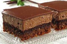 Sastojci: Biskvit: 3 jaja 150 g šećera 50 ml ulja 100 ml mlijeka 100 g čokolade 70 g brašna 1 prašak za pecivo 100 g mlj...