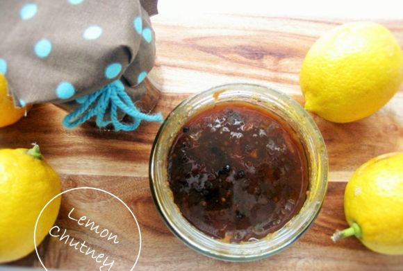 Homemade Lemon Chutney Recipe! Delicious and great to give to family and friends! DIY, crafts, handmade, vegan, vegetarian.