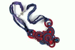soutache necklace montownia monity