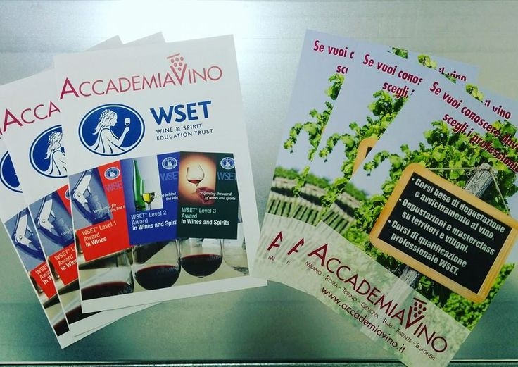Follow th flyers! #accedemiavino #wset