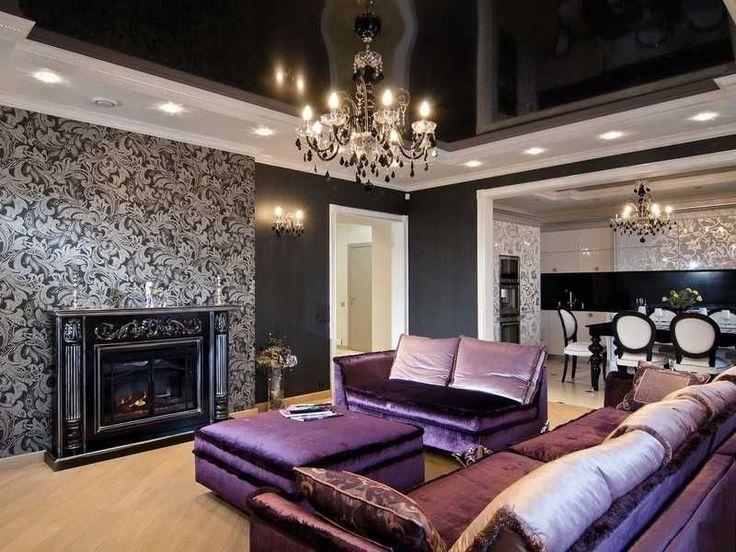 55+ идей мебель в интерьере: стили и особенности выбора http://happymodern.ru/mebel-v-interere/ Великолепная гостиная в стиле арт-деко