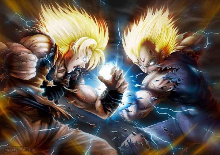 Goku And Vegeta Dragon Ball Pinterest