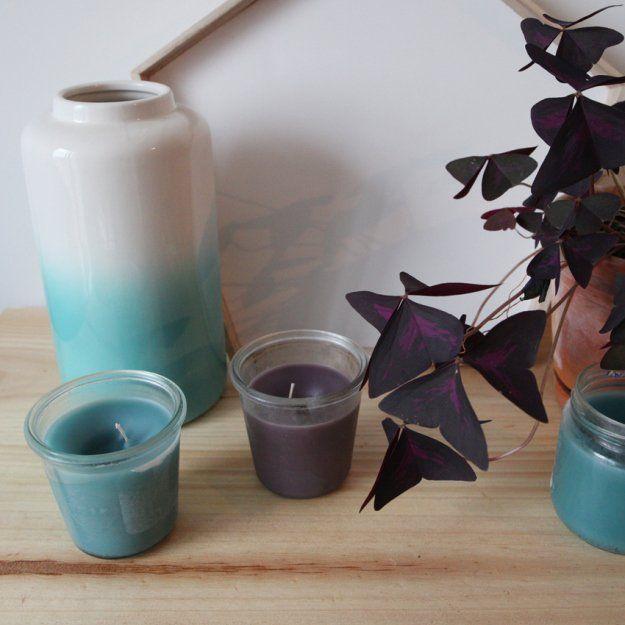 Tuto : recycler et fabriquer des bougies - Loisirs créatifs
