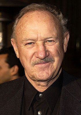 """Gene Hackman (aka Eugene Allen Hackman) (1930 - ) - American Actor and Novelist - """"The Bird Cage"""" 1996, """"Behind Enemy LInes"""" 2001"""", """"Enemy of the State"""" 1998 - Oscar for """"Unforgiven"""" 1993, and """"The French Connection"""" 1972 - Nominated for """"Mississippi Burning"""" 1988, """"I Never Sang for My Father"""" 1970 and """"Bonnie and Clyde"""" 1967"""