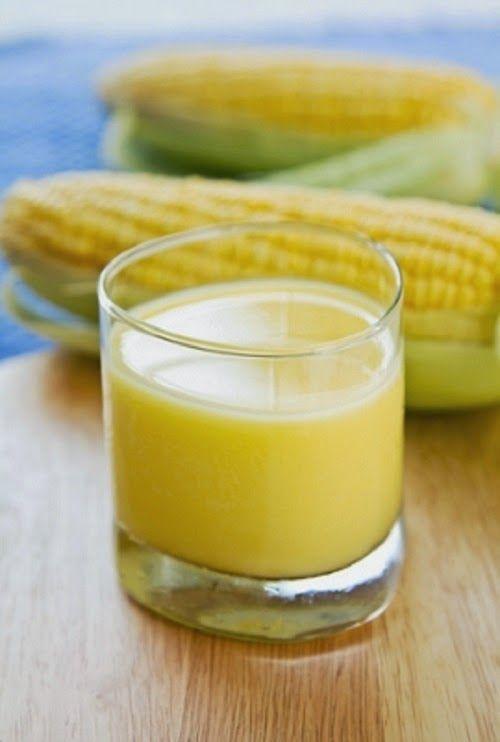 DELÍCIA!!!O LHA SÓ A RECEITA FACÍLIMA! Suco de milho verde é nutritivo e ajuda a reduzir glicose e colesterol... Clique e copie!!