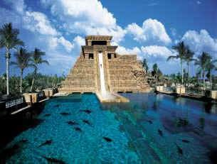 "The ""Leap of Faith"" Waterslide at Atlantis in Bahamas, what a thrill!"