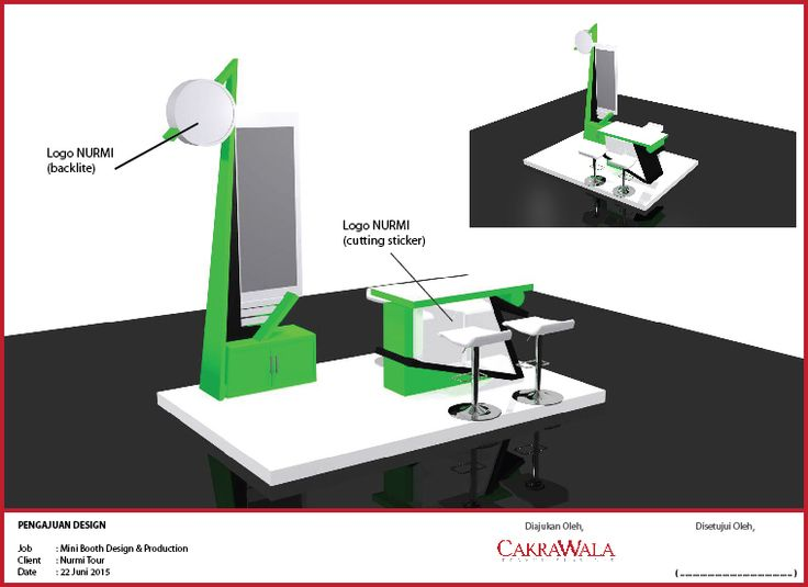Booth Design and production