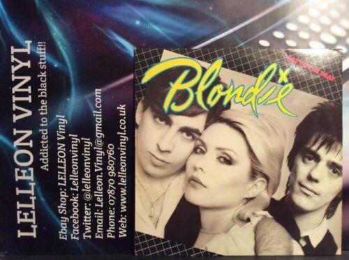 Blondie Eat To The Beat LP Album Vinyl Record CDL-1225 Rock Punk Pop 70's Music:Records:Albums/ LPs:Rock:Punk