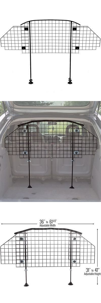 Car Seats and Barriers 46454: Adjustable Pet Barrier Vehicle Dog Fence Cage Gate Safety Mesh Net -> BUY IT NOW ONLY: $40.99 on eBay!