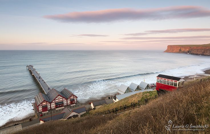 A Spring Evening Overlooking Saltburn Beach - The North Yorkshire Gallery
