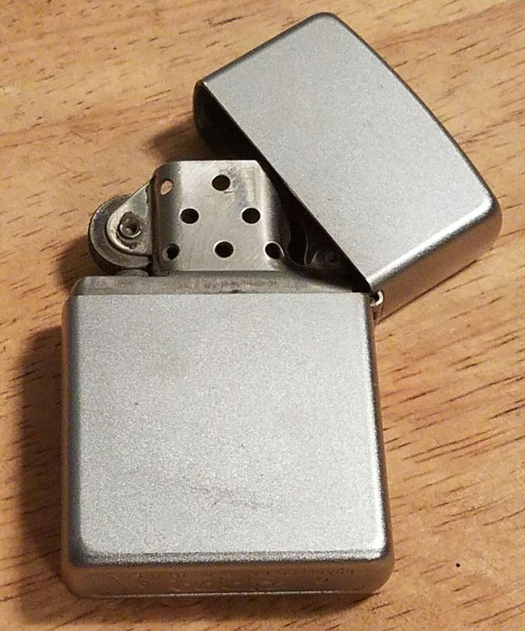 Zippo Brushed Nickel Finish 2004 Lighter | Collectibles, Tobacciana, Lighters | eBay!