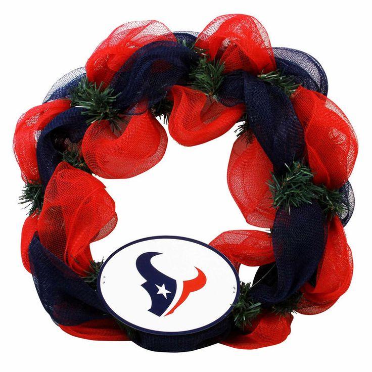 Houston Texans Mesh Wreath