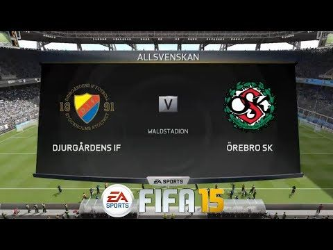 Djutgarden If Vs Orebro Sweden Allsvenskan Live Ii Ps4 Gameplay Ii Ps4 Gameplay Ps4 Games Orebro