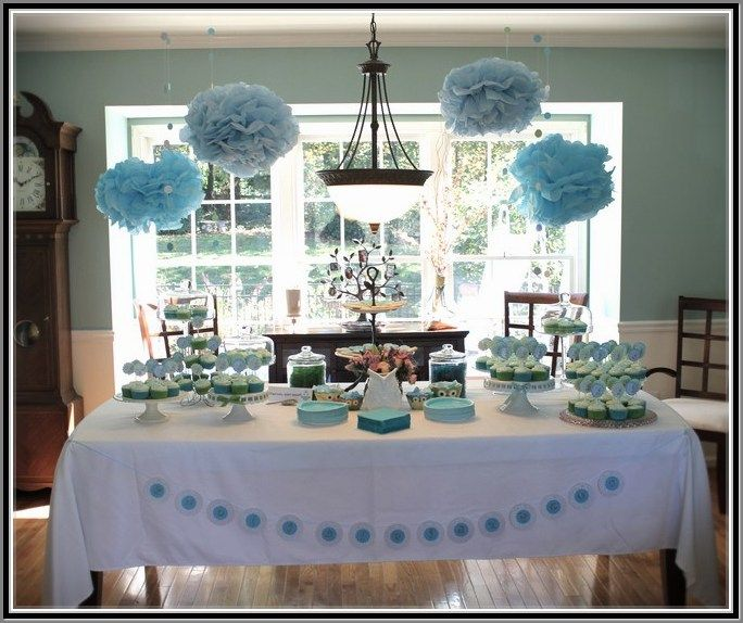 Best 25 budget baby shower ideas on pinterest for Baby shower decoration ideas for twin boys