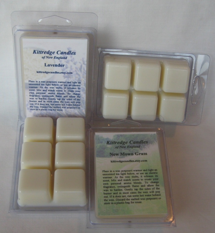 Pack of 4 Tarts in any of Kittredge's 180 scents that work better in Scentsy burners than scentsy bars because they're soy and hold fragrance longer. The scents from this place are AMAZING. Manolo Blahnik's smell like Manolos, Campfire smells legitimately like a campfire.