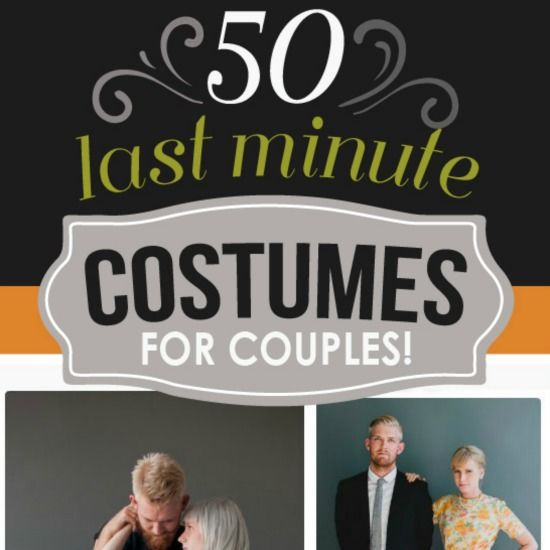 50 Last Minute Couples Halloween Costumes