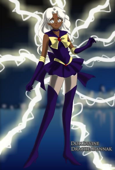 Storm as a Sailor Scout - Not sure how I feel about this...