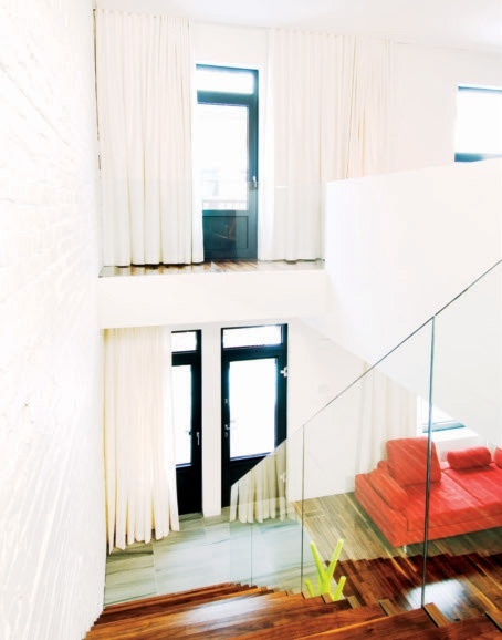 stairs - met glas