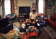 Home with Dada. O que pai e filho fazem quando a mãe não está em casa? [Time lapse]