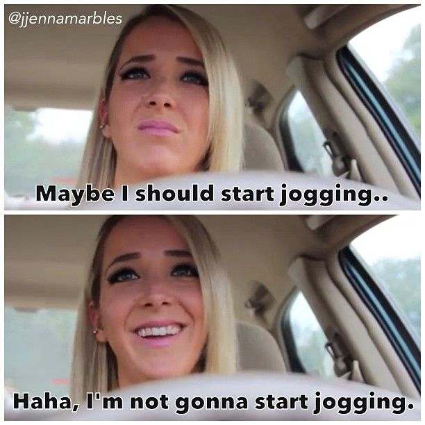 Jenna marbles on what girls think about while driving. Brilliant.