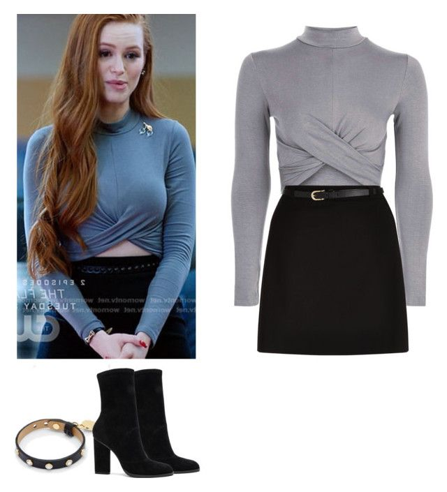 Cheryl Blossom - Riverdale by shadyannon on Polyvore featuring polyvore fashion style Topshop New Look Alexander Wang Ted Baker clothing