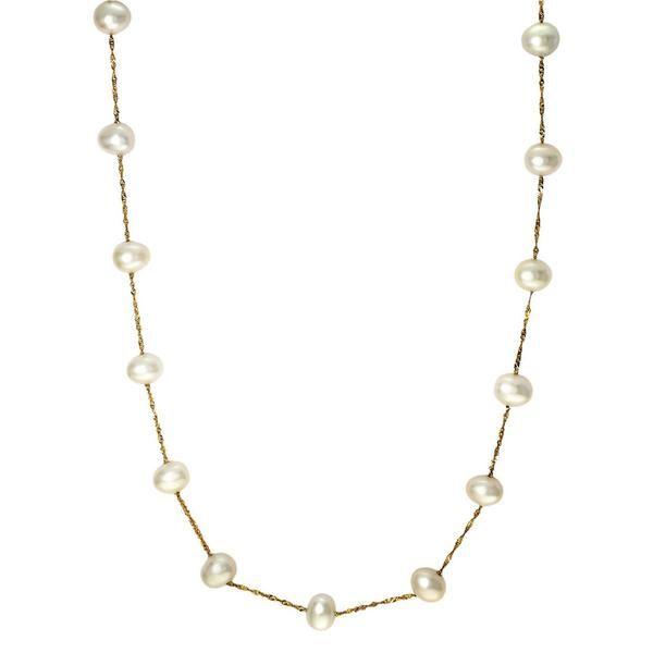 EFFY 14kt Gold Freshwater Pearl Necklace