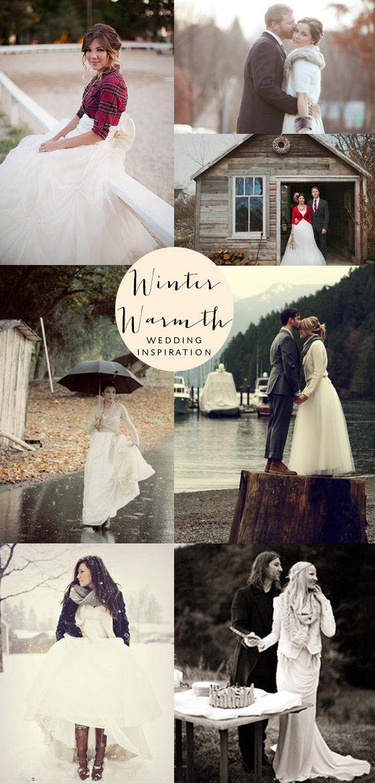 winter wedding coats Winter Wedding Warmth {Wedding Inspiration}