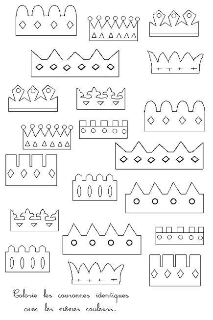modèles couronnes des rois                                                                                                                                                                                 Plus