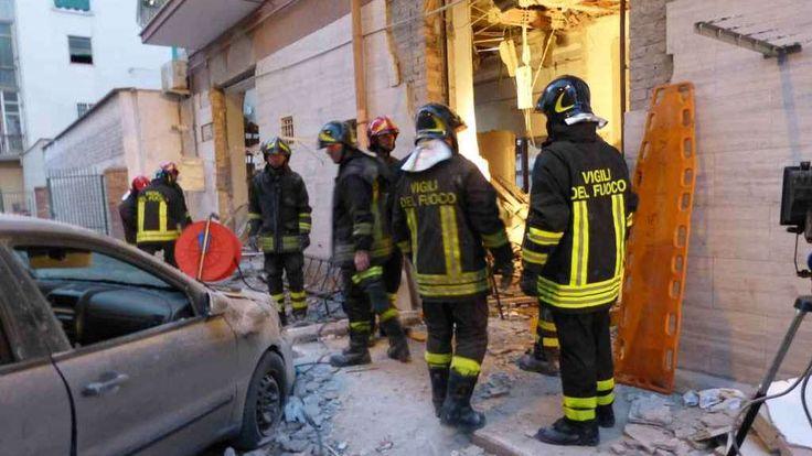 Esplosione di una palazzina a Foggia