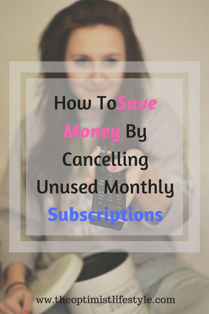 Netflix, Amazon Prime, Sky TV, Cable, internet, gym memberships, etc., the list goes on!  Let's face it, there are many subscription services you might not be aware you were paying for. This article show you how to save money by cancelling those unused monthly subscriptions that you no longer need. #savingmoney #budgeting #personalfinance
