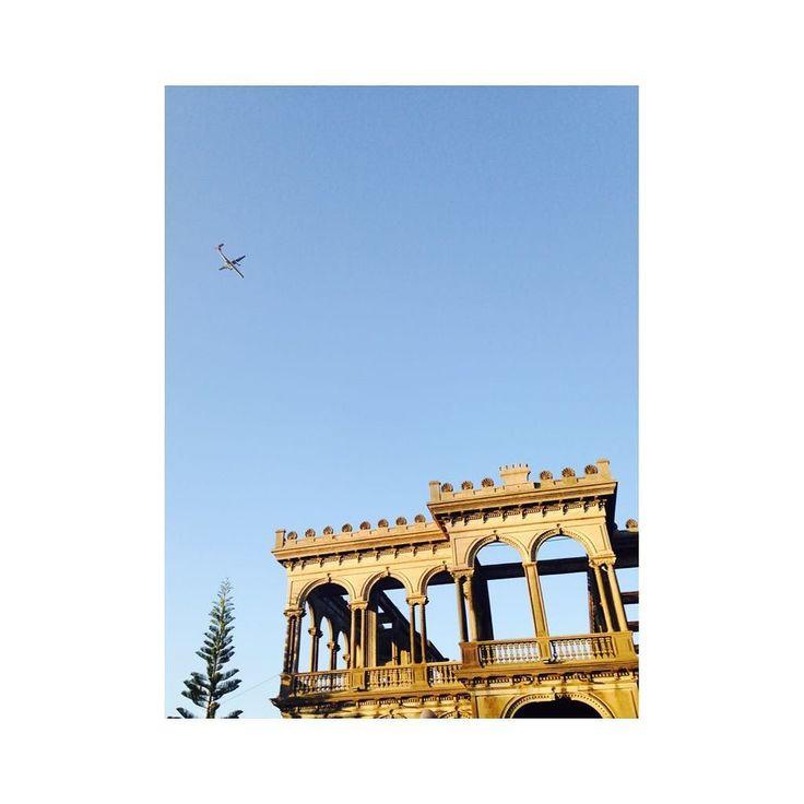 . #Philippine #Bacolod #Ruins #sky #studyabroad #フィリピン #バコロド #廃墟 #語学留学 #空 by i_am_yamauchi