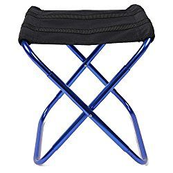 Portable Folding Stool Outdoors Folding Chair Mini Lightweight Camp Seat