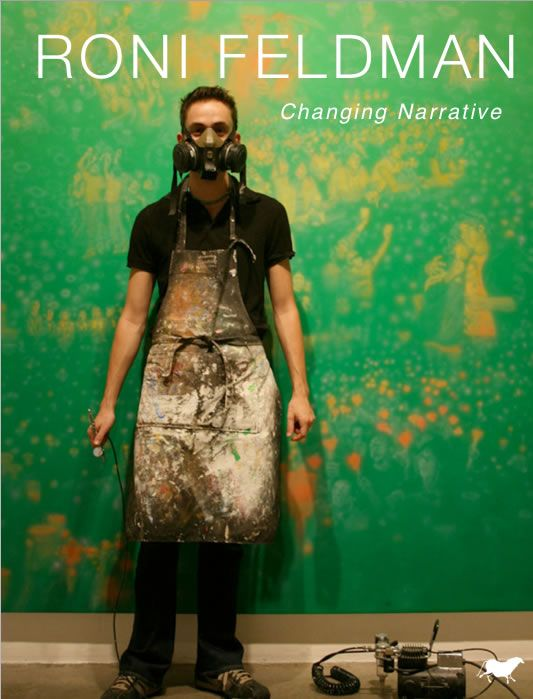 DISCOVER 'Roni Feldman: Changing Narrative' iArtBook here: https://itunes.apple.com/gb/book/roni-feldman/id596387072?mt=11 £3.99
