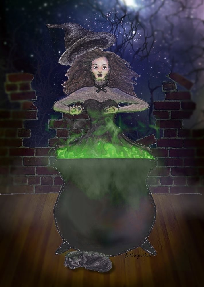 I Put Spell On You by JustCupcakin on DeviantArt