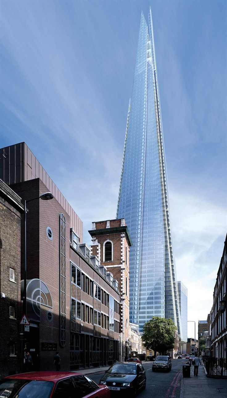 SHARD LONDON BRIDGE, Renzo Piano
