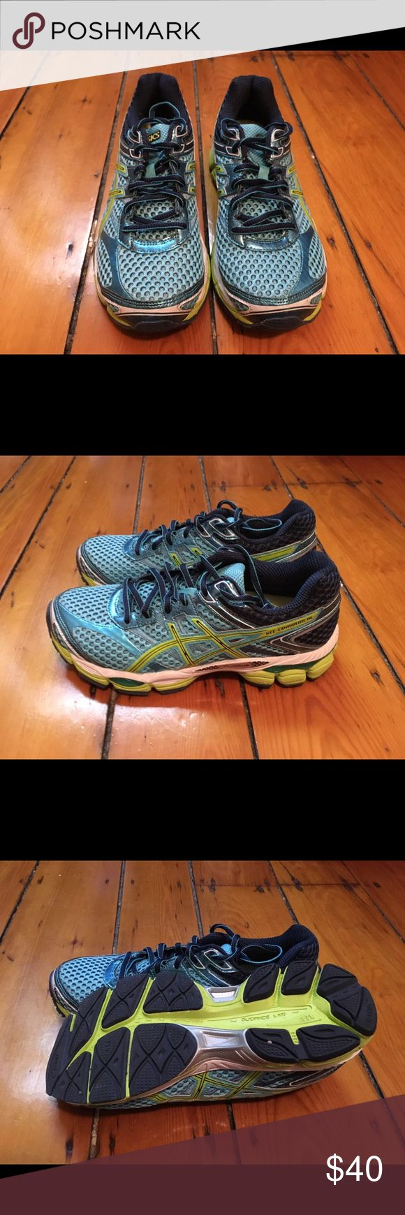 Asics Gel-Cumulus 16 Tried and true running shoe. Only worn once to try fit and test in a gym. Just like new. Asics Shoes Athletic Shoes