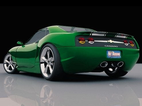 Camero concept- now this is a concept that I can get behind.
