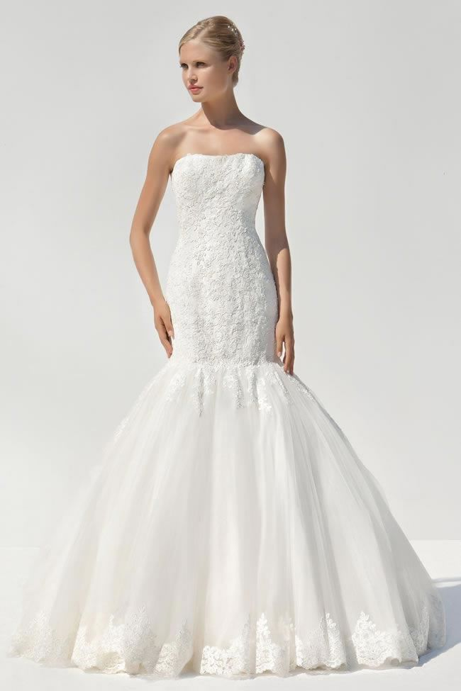 Mark Lesley 7068 • 20 of the best mermaid wedding dresses