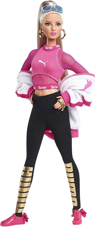Barbie PUMA Doll, Blonde   Fashion dolls, Chic outfits, Puma fashion