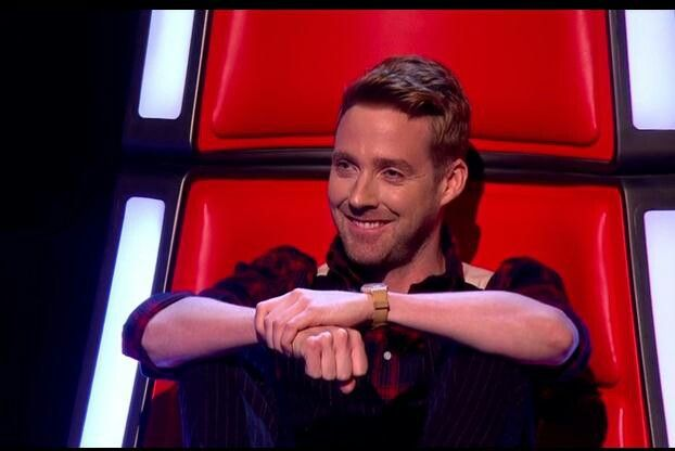Ricky Wilson because Kaiser Chiefs and because: most beautiful face on The Voice.