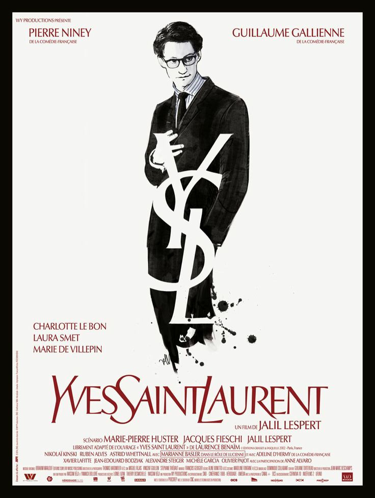 Yves Saint Laurent - Poster